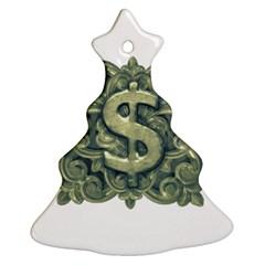 Money Symbol Ornament Ornament (christmas Tree)  by dflcprints