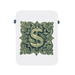 Money Symbol Ornament Apple iPad 2/3/4 Protective Soft Cases