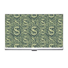 Money Symbol Ornament Business Card Holders by dflcprintsclothing