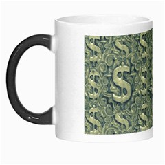 Money Symbol Ornament Morph Mugs by dflcprintsclothing