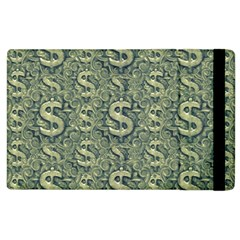 Money Symbol Ornament Apple Ipad 2 Flip Case by dflcprintsclothing
