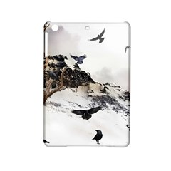 Birds Crows Black Ravens Wing Ipad Mini 2 Hardshell Cases by Amaryn4rt