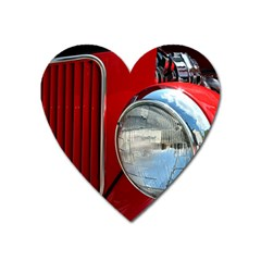 Antique Car Auto Roadster Old Heart Magnet by Amaryn4rt