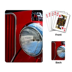 Antique Car Auto Roadster Old Playing Card by Amaryn4rt