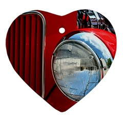 Antique Car Auto Roadster Old Heart Ornament (two Sides) by Amaryn4rt