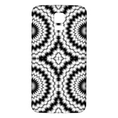Pattern Tile Seamless Design Samsung Galaxy S5 Back Case (white) by Amaryn4rt