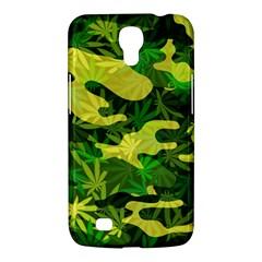 Marijuana Camouflage Cannabis Drug Samsung Galaxy Mega 6 3  I9200 Hardshell Case by Amaryn4rt