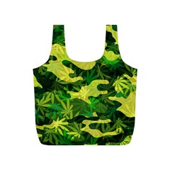 Marijuana Camouflage Cannabis Drug Full Print Recycle Bags (s)  by Amaryn4rt
