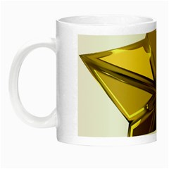 Stars Gold Color Transparency Night Luminous Mugs by Amaryn4rt