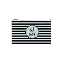 J for Jack Cosmetic Bag (Small) by daydreamer