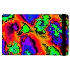 Hot Fractal Statement Apple Ipad 2 Flip Case by Fractalworld
