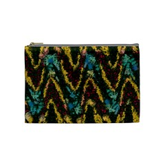 Painted Waves                                                         Cosmetic Bag by LalyLauraFLM