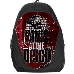 Panic At The Disco Poster Backpack Bag by Onesevenart