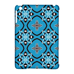 Ornamental Flowers Pattern                                                        apple Ipad Mini Hardshell Case (compatible With Smart Cover) by LalyLauraFLM