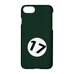 British Racing Green Apple iPhone 7 Hardshell Case by PocketRacers