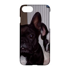 2 French Bulldogs Apple iPhone 7 Hardshell Case by TailWags