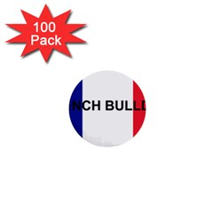 French Bulldog France Flag 1  Mini Buttons (100 pack)  by TailWags