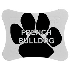French Bulldog Name Mega Paw Jigsaw Puzzle Photo Stand (Bow) by TailWags