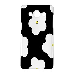 April Fun Pop Floral Flower Black White Yellow Rose Samsung Galaxy A5 Hardshell Case  by Jojostore