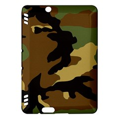 Army Camouflage Kindle Fire Hdx Hardshell Case by Jojostore
