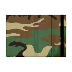 Army Shirt Green Brown Grey Black Apple iPad Mini Flip Case by Jojostore