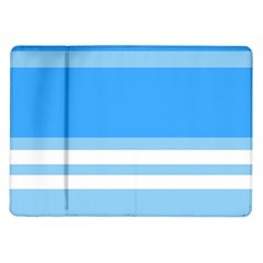 Blue Horizon Graphic Simplified Version Samsung Galaxy Tab 10 1  P7500 Flip Case by Jojostore
