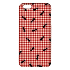 Ant Red Gingham Woven Plaid Tablecloth Iphone 6 Plus/6s Plus Tpu Case by Jojostore