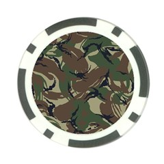 Army Shirt Grey Green Blue Poker Chip Card Guard (10 Pack) by Jojostore