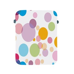 Bubble Water Yellow Blue Green Orange Pink Circle Apple Ipad 2/3/4 Protective Soft Cases by Jojostore