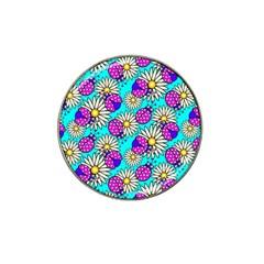 Bunga Matahari Serangga Flower Floral Animals Purple Yellow Blue Pink Hat Clip Ball Marker (10 Pack) by Jojostore