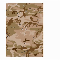 Desert Camo Gulf War Style Grey Brown Army Small Garden Flag (two Sides) by Jojostore