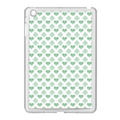 Diamond Heart Card Purple Valentine Love Blue Green Apple Ipad Mini Case (white) by Jojostore
