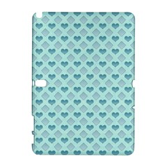 Diamond Heart Card Valentine Love Blue Galaxy Note 1 by Jojostore