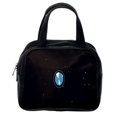 Earth Universe Natural Space Galaxy Classic Handbags (one Side) by Jojostore