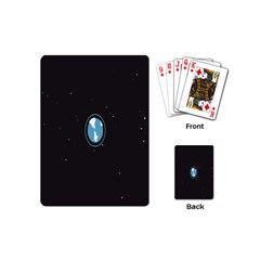 Earth Universe Natural Space Galaxy Playing Cards (mini)  by Jojostore