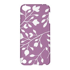 Floral Flower Leafpurple White Apple Ipod Touch 5 Hardshell Case by Jojostore