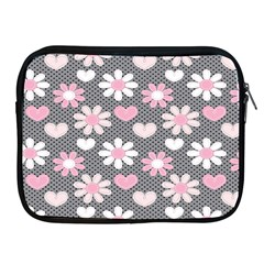 Flower Floral Rose Sunflower Pink Grey Love Heart Valentine Apple Ipad 2/3/4 Zipper Cases by Jojostore
