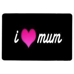 I Love Moom Mum Pink Valentine Heart Ipad Air 2 Flip by Jojostore