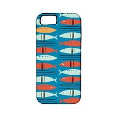 Go Fish  Fishing Animals Sea Water Beach Red Blue Orange Grey Apple Iphone 5 Classic Hardshell Case (pc+silicone) by Jojostore