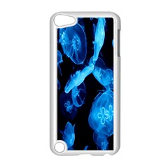Jellyfish Sea Beack Water Blue Apple Ipod Touch 5 Case (white) by Jojostore