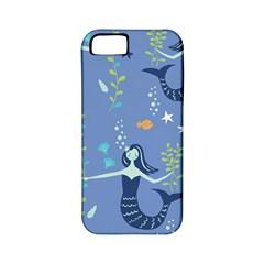 Little Mermaid Star Fish Sea Water Apple Iphone 5 Classic Hardshell Case (pc+silicone) by Jojostore