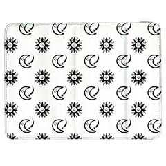 Month Moon Sun Star Samsung Galaxy Tab 7  P1000 Flip Case by Jojostore
