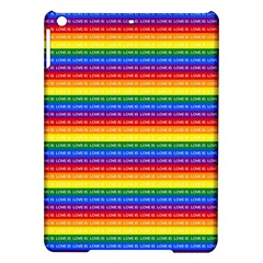 Love Valentine Rainbow Red Purple Blue Green Yellow Orange Ipad Air Hardshell Cases by Jojostore