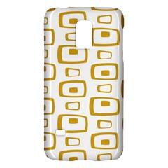 Plaid Gold Galaxy S5 Mini by Jojostore