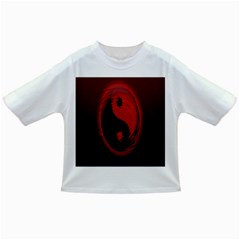 Red Black Taichi Stance Sign Infant/toddler T Shirts by Jojostore