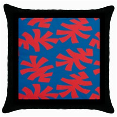 Simple Tropical Original Throw Pillow Case (black) by Jojostore