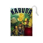 Karuba Draw Bag Box Art Red - Drawstring Pouch (Medium)