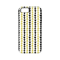 Triangle Green Black Yellow Apple Iphone 5 Classic Hardshell Case (pc+silicone) by Jojostore