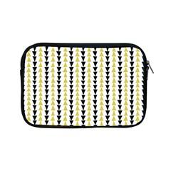 Triangle Green Black Yellow Apple Ipad Mini Zipper Cases by Jojostore