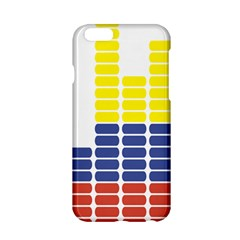 Volumbia Olume Circle Yellow Blue Red Apple Iphone 6/6s Hardshell Case by Jojostore